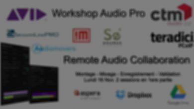 Photo of Tout sur ProTools et les nouveautés audio AVID en webinar avec CTM